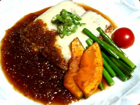 豆腐ステーキ01