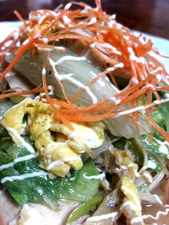 鶏ハム・レタス・塩タレ10