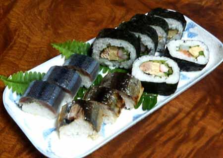 サンマ寿司01