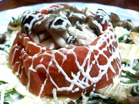 トマトきのこサラダ04.jpg