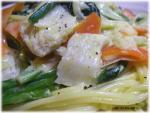 白身魚とホウレン草のパスタ10.jpg