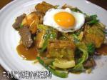 牛カルビの野菜炒め3
