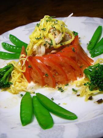 トマトとツナのサラダ5