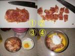 鶏肉の酢豚風1
