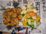 鶏肉の酢豚風3