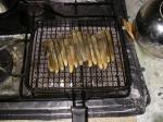 マテガイ網焼き6