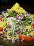 砂肝豆腐サラダ2