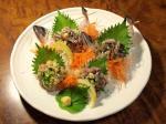 鯵のタタキ三味1
