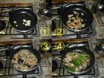 帆立とニラのニンニク醤油炒め_作り方2