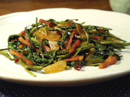 空芯菜料理レシピ5