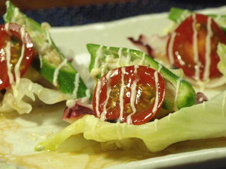 タコと茄子のカルパッチョ作り方10
