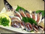 秋刀魚なめろう、たたき、ユッケ、刺身、骨煎餅2