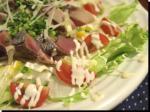 ハガツオたたき海鮮サラダ14