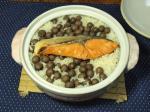 鮭とむかごの炊きこみご飯10