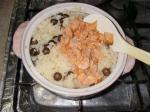鮭とむかごの炊きこみご飯12