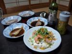 エビと水菜の豆腐サラダ3