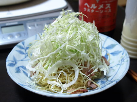 きゃべせん焼き蕎麦3