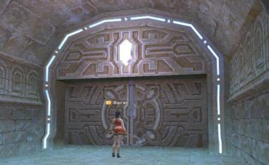 異界の口への扉です