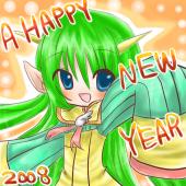 a happy new year@@kokage