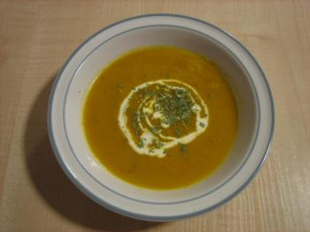 Carrot and Tarragon Soup