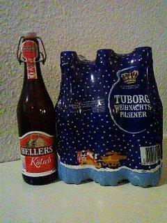 クリスマスのビール