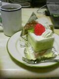 ボンマルシェのケーキ
