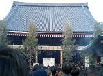 混雑の浅草寺