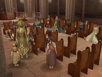 カレー教会に集合するメンバー