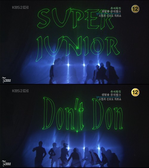 Super Junior - Don't Don