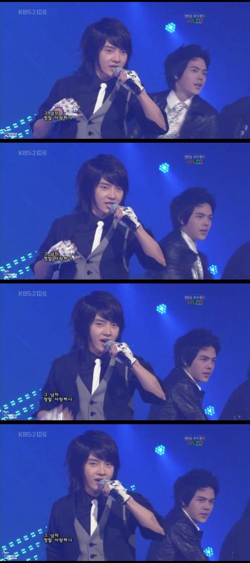 Music Bank - ユナク