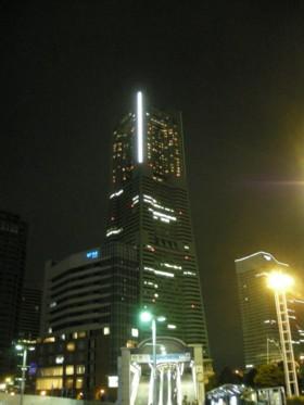 夜のランドマーク