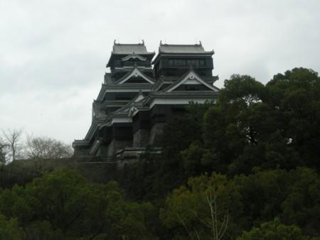 城とくもり空