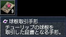 球根手形GET!(σ・∀・)σ