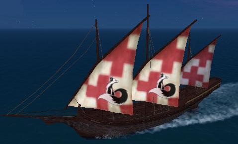 赤十字支援用船(笑)