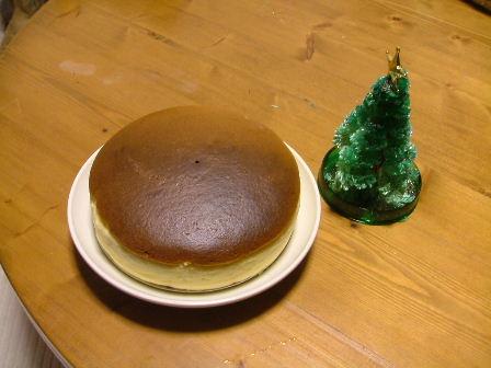 一昨年のチーズケーキですが。。