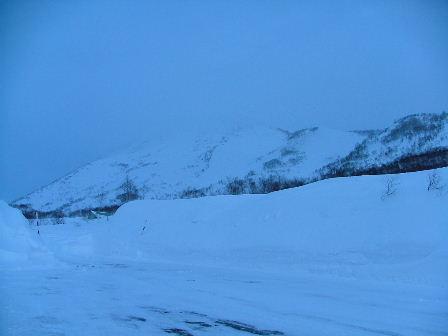 ニセコの北斜面です