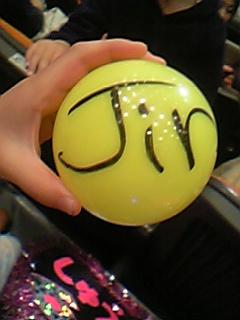 Jinくんのボール