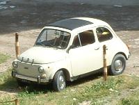 おもちゃみたいな車、FIAT 500(フィアット チンクェチェント)