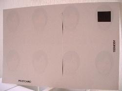 ポストカード仕様の証明写真