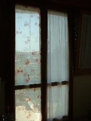 お気に入りの生地でカーテン