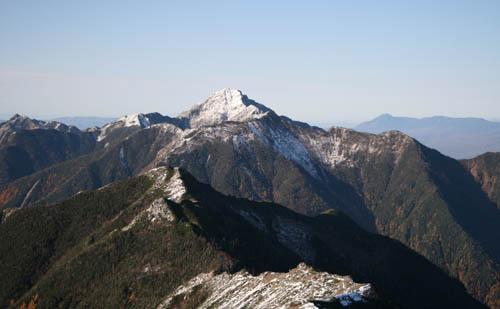 稜線上から小太郎山