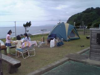 大間越キャンプ場