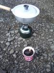 1022お湯沸しコーヒー