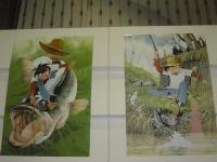 二枚のポスター