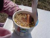 ウインナー入りカップ麺