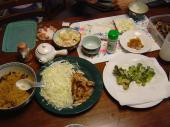 オヤジの夕食