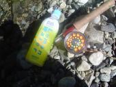 氷飲料とロッド