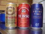 ビール3本