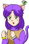 風船猫・タマの師匠、ネミミの娘。ソレイユ