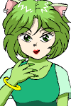 鬼江の親友のケインの娘であり、鬼江の養女でもあるチャコ。